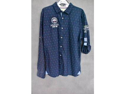 Košile Camp David Seamanship Blue Navy
