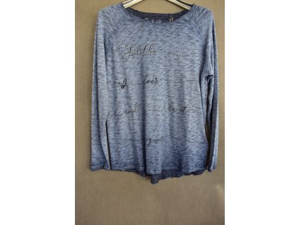 Tričko Soccx Shadow Blue