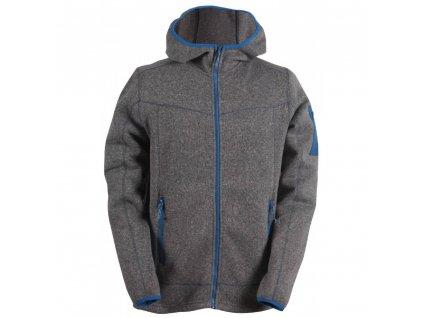 heden pansky svetr s kapuci a zipem flatfleece barva 179 1000x1000