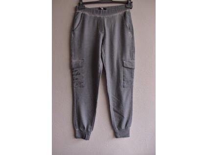 Tepláky Soccx Jersey Stone Grey