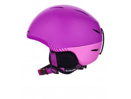 Lyžařská přilba Blizzard Speed Junior violet/pink