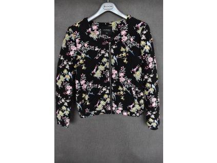 Bunda Top Secret Flower Black