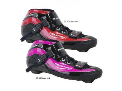 GT 500 náhradní bota red 34