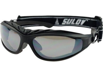 Sportovní brýle SULOV ADULT II, černý mat
