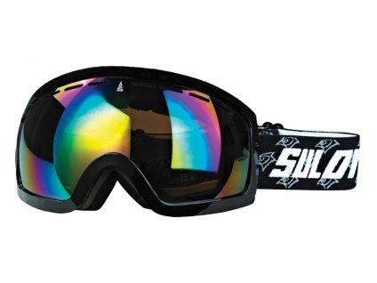 Brýle sjezdové SULOV HORNET, dvojsklo, černé mat