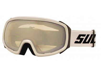 Brýle sjezdové SULOV PRO, dvojsklo revo, stříbrné