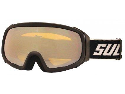 Brýle sjezdové SULOV PRO, dvojsklo revo, černé