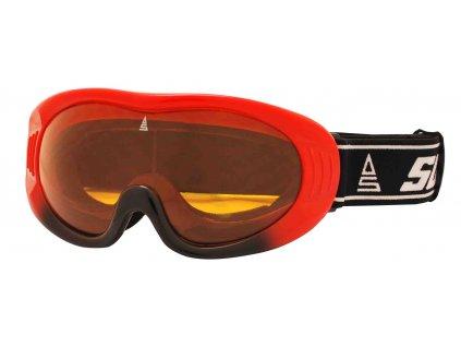 Brýle sjezdové SULOV RIPE, červená