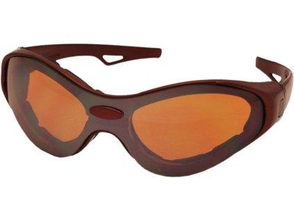 Sportovní brýle TT-BLADE MULTI, metalická červená