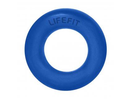 Posilovač prstů LIFEFIT RUBBER RING modrý