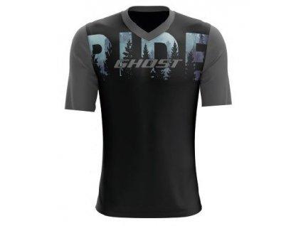 RIDE Line ➜ Dres Krátký rukáv - Black / Gray
