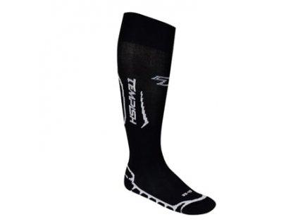 ATACK štulpny s ponožkou black 43-44