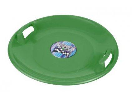 Sáňkovací talíř Superstar zelené