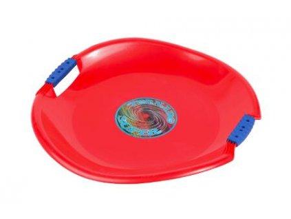 Sáňkovací talíř Tornado Super červené