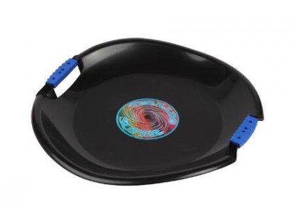 Sáňkovací talíř Tornado Super černé