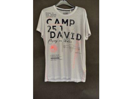 Tričko Camp David Future Opticwhite