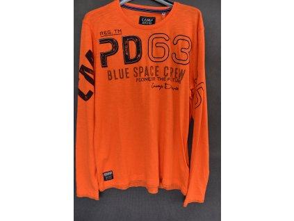 Tričko Camp David Space Flight Mission Orange