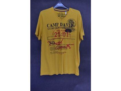 Tričko Camp David Ralley Namibia Corn Yellow