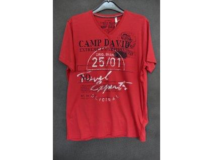 Tričko Camp David Ralley Namibia Lava Red