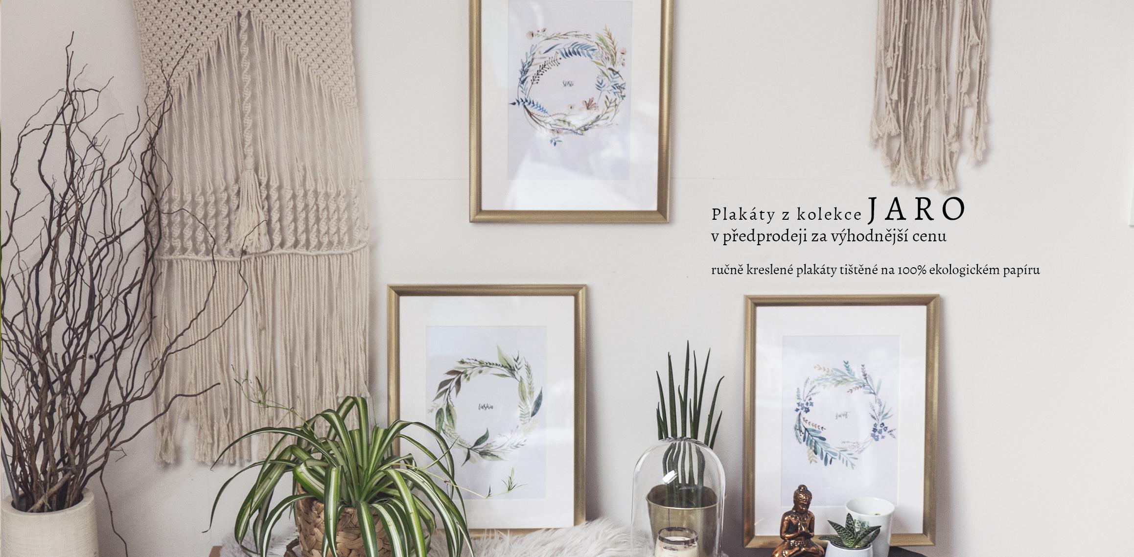 Plakáty kolekce Jaro