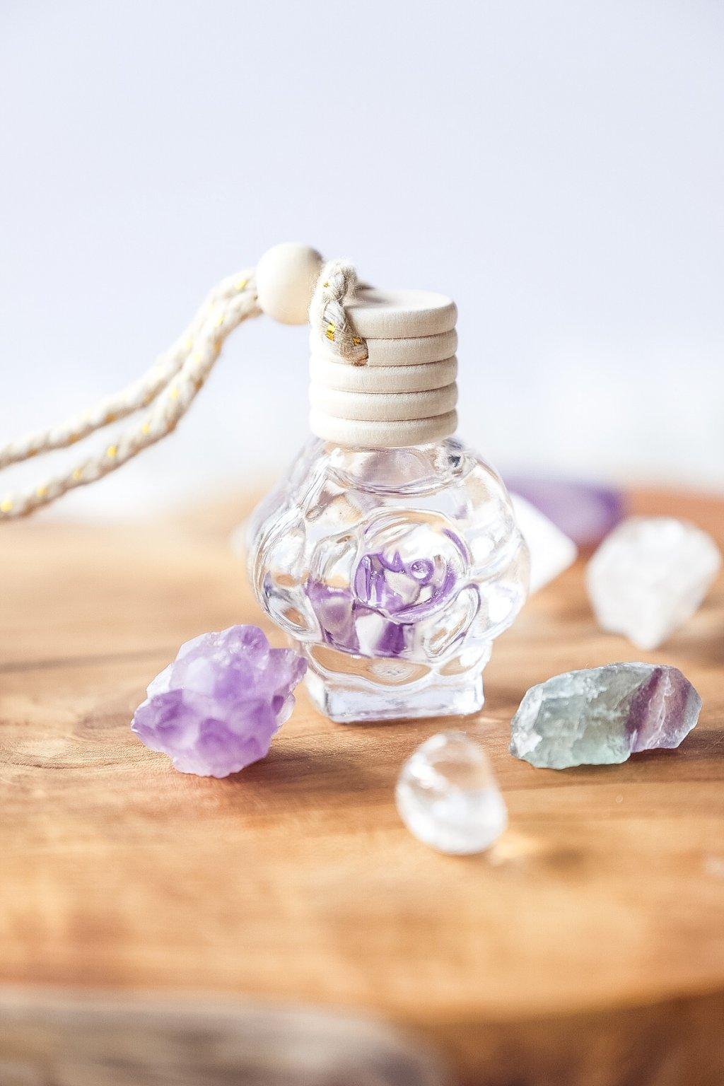 Krystalový aroma difuzér Květ lípy