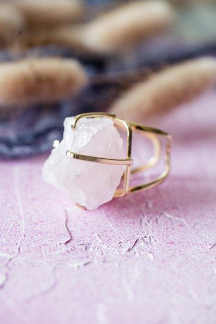 Prsten s růženínem - GOLD