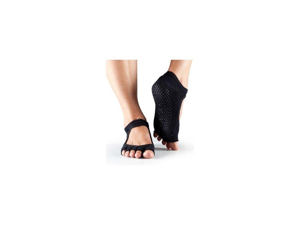 c4a7e49a0f4 Bezprstové protiskluzové ponožky na jógu a pilates ToeSox Bella ...