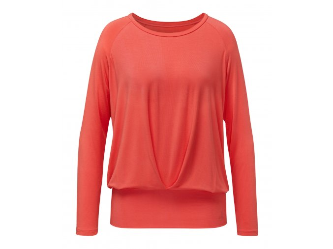 BRIGITTE Boxpleat Shirt coralred