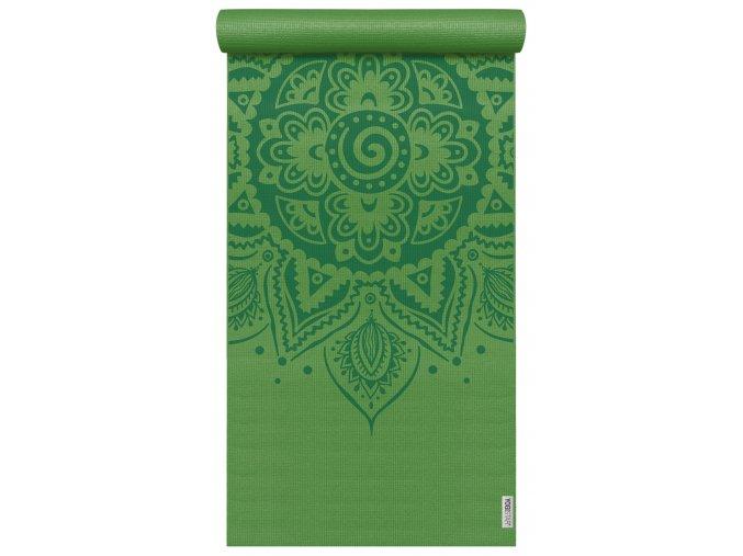 yogimat basic art collection spiral mandala kiwi web2000