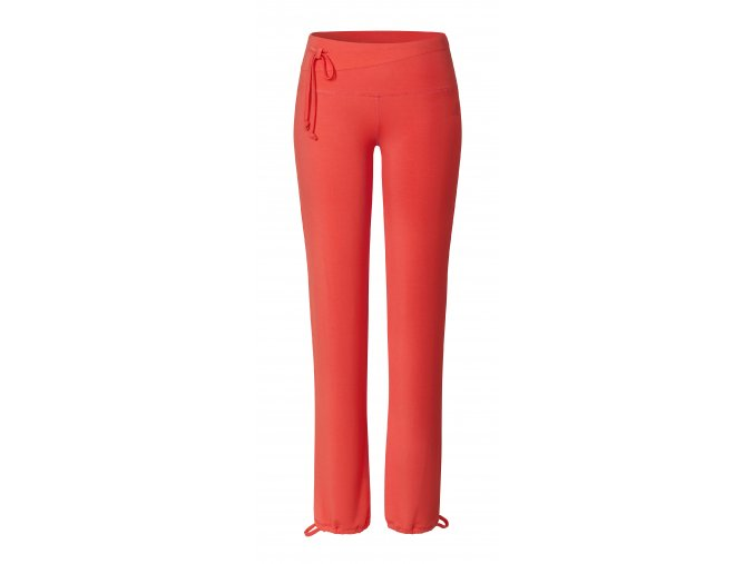 BRIGITTE Pants straight coralred