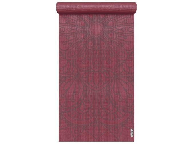 yogimat basic art collection lotus mandala bordeux web2000(1)