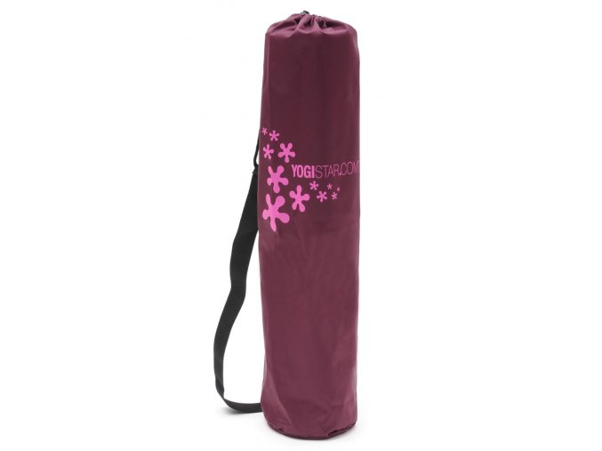 yogibag nylon logo bordeaux web z1