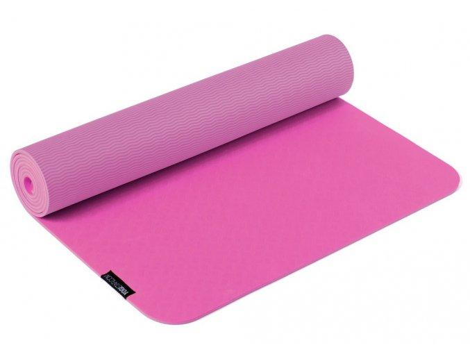 podložka na jógu pro tpe pink