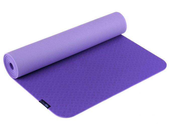 Podložka na jógu TPE PRO hypoalergenní - violet