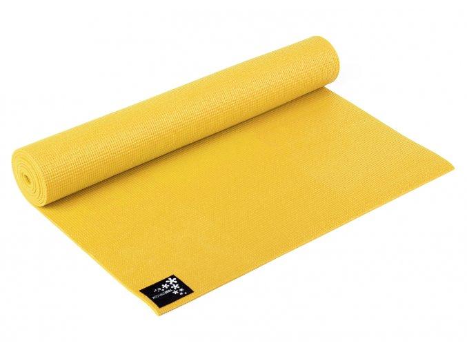žlutá Kids podložka na jógu