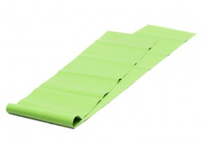 pilates stretchband latexfrei gruen soft web 1400
