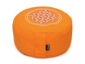 meditationskissen vintage rund orange 30cm web2000