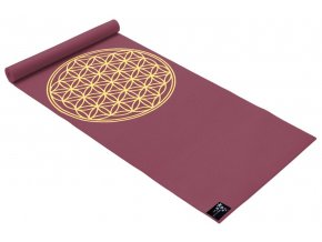 yogimat basic flower of life bordeaux web1400
