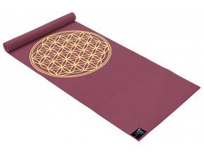 yogimat basic flower of life bordeaux web1400