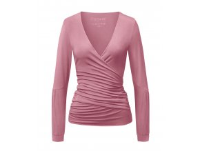 New Wrapjacket by Brigitte coral pink