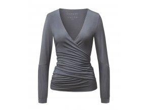New Wrapjacket by Brigitte anthracite grey