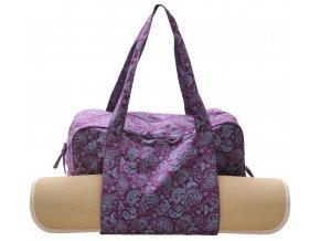 yogatasche twin bag paisley fusion violet mit matte web2000