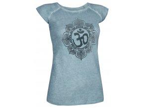 t shirt pigment dyed om damen hellblau front web1400