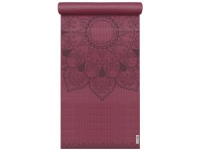 yogimat basic art collection harmonic mandala bordeaux web2000