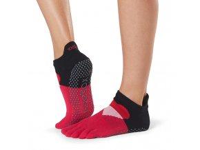 LOW rise prstové ponožky protiskluzové joga PASSION
