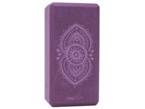 yogiblock basic art collection ajna chakra aubergine web2000