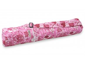 yogibag basic zip art collection lotus rose red front web2500