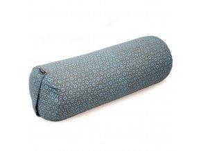 yogabolster rund vintage cotton taupe turquoise web2500