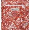 yogibag basic zip art collection paisley orange red detail web1500