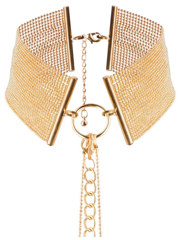 Obojek - náhrdelník Magnifique Gold  zlatý